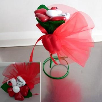 fiore con sacchetto