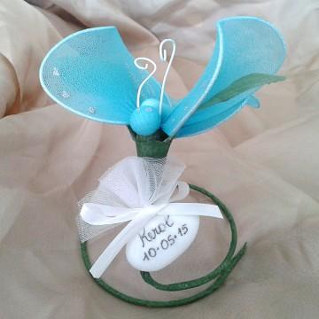 farfalla con confetto